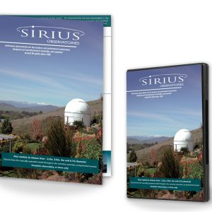 Sirius Observatory Brochure and DVD Information Pack