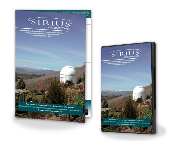 Sirius Observatory Brochure and DVD Information Pack-0