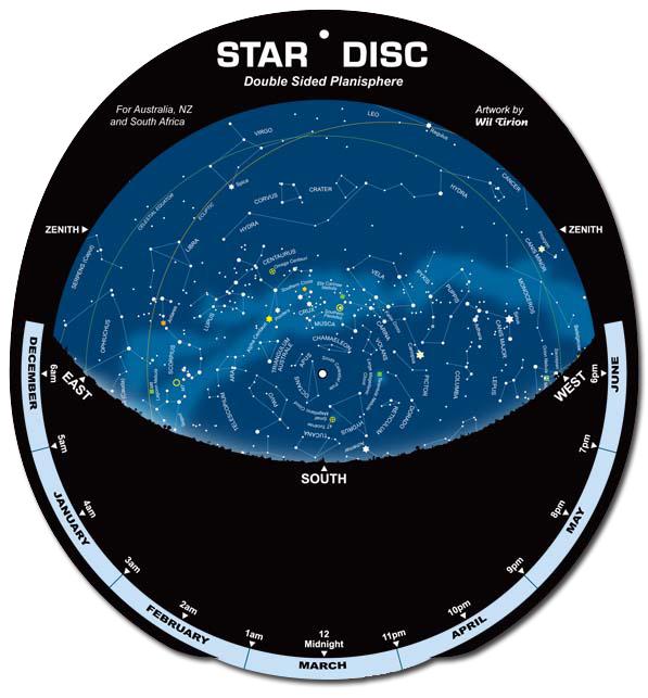 Star Disc – Planisphere-0