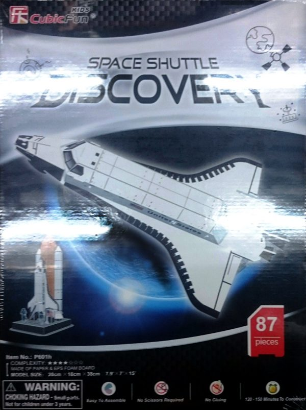 Space Shuttle Discovery 3D Model-0