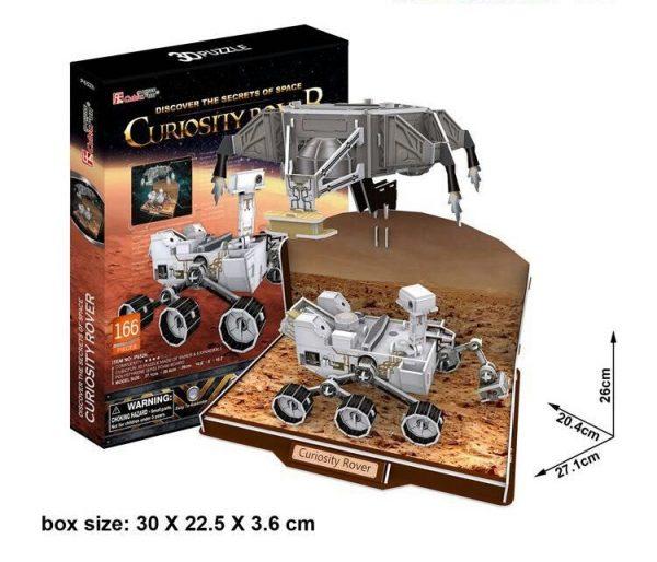 Curiosity Rover 3D Model-0
