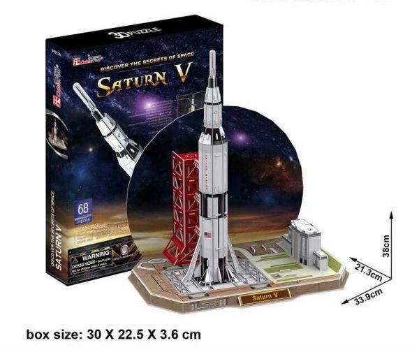 Saturn V 3D Model-0