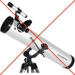 Your First Telescope – Choosing and using it.