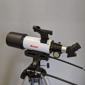 Kson 80mm Refractor on AZ3 tripod