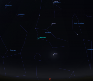 Read more about the article ETA Aquarids Meteor Shower – Telescopes are Back !