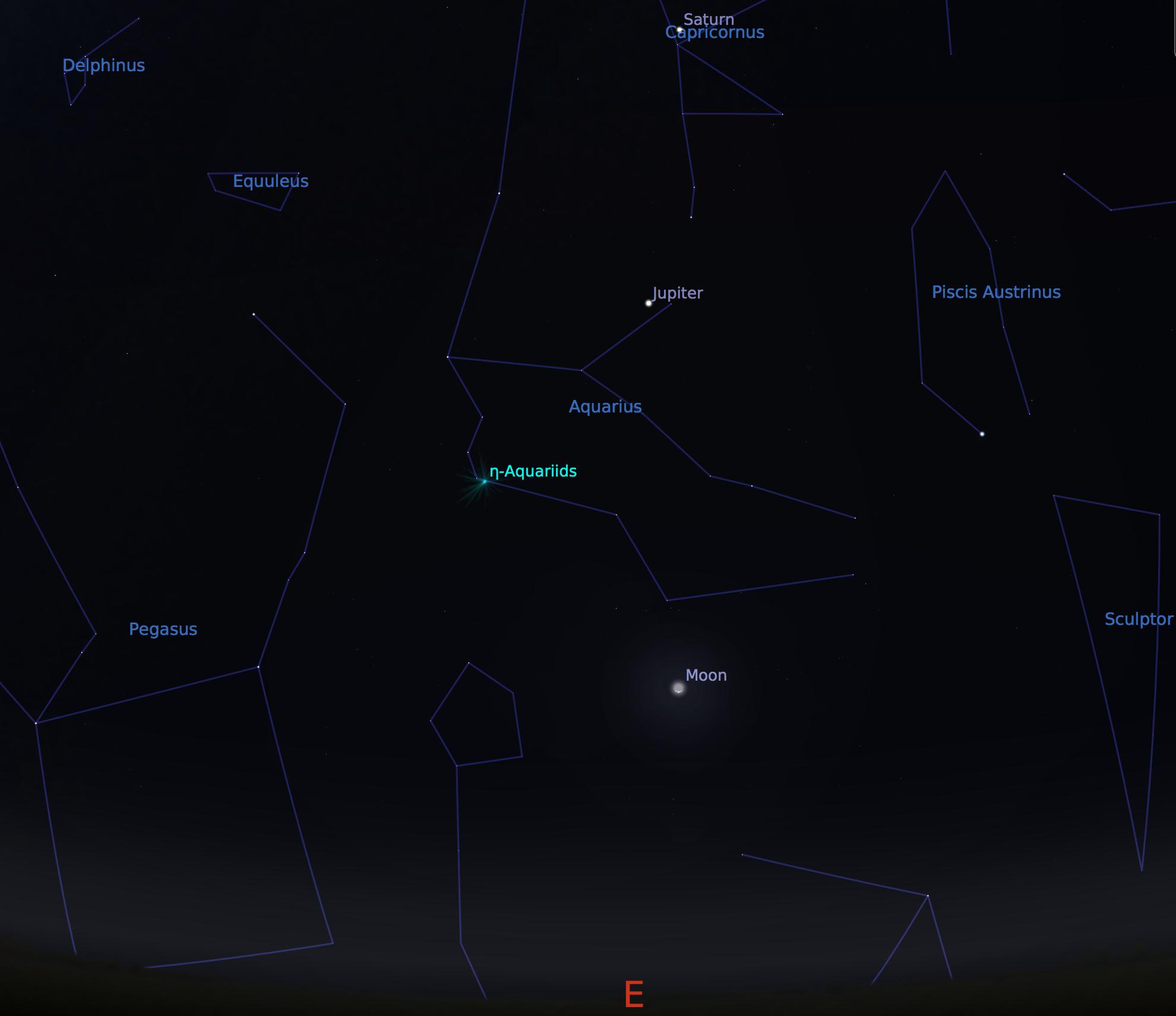 ETA Aquarids Meteor Shower – Telescopes are Back !